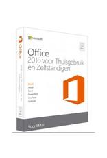 Microsoft Microsoft Office Thuisgebruik & Zelfstandigen 2016 1-PC