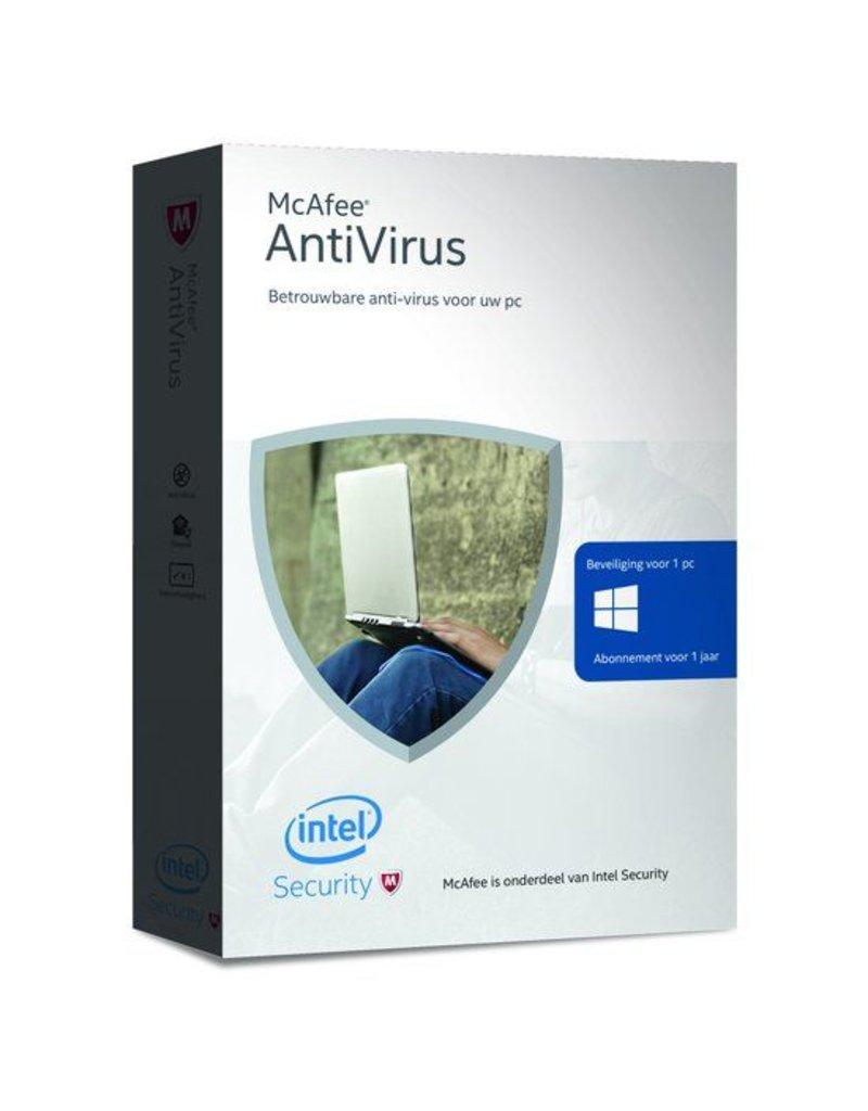 McAfee McAfee Antivirus 1-PC 1 jaar
