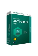 Kaspersky Kaspersky Antivirus 2016 1-PC 1 jaar
