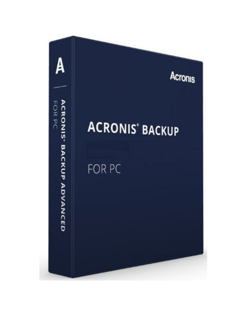 Acronis Acronis Backup for PC