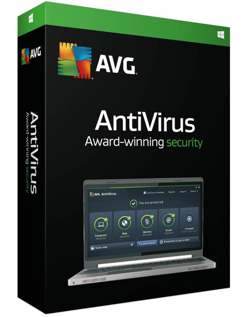 AVG AVG Antivirus 2-PC 1 jaar