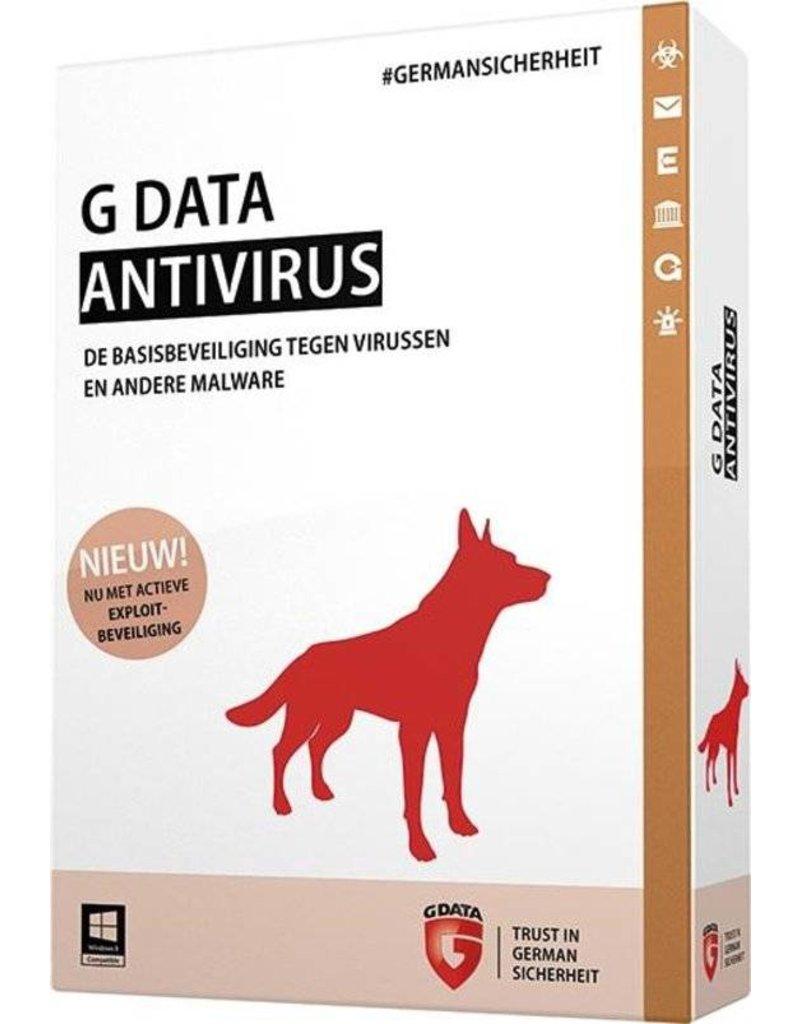 G-Data G-Data Antivirus 1-PC 2 jaar auto-renew