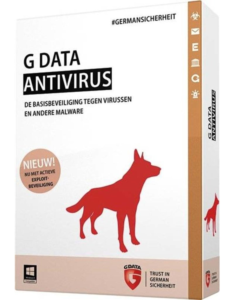 G-Data G-Data Antivirus 1-PC 3 jaar auto-renew