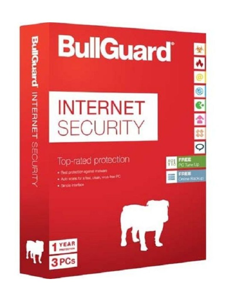 Bullguard BullGuard Internet Security 3-PC 3 jaar