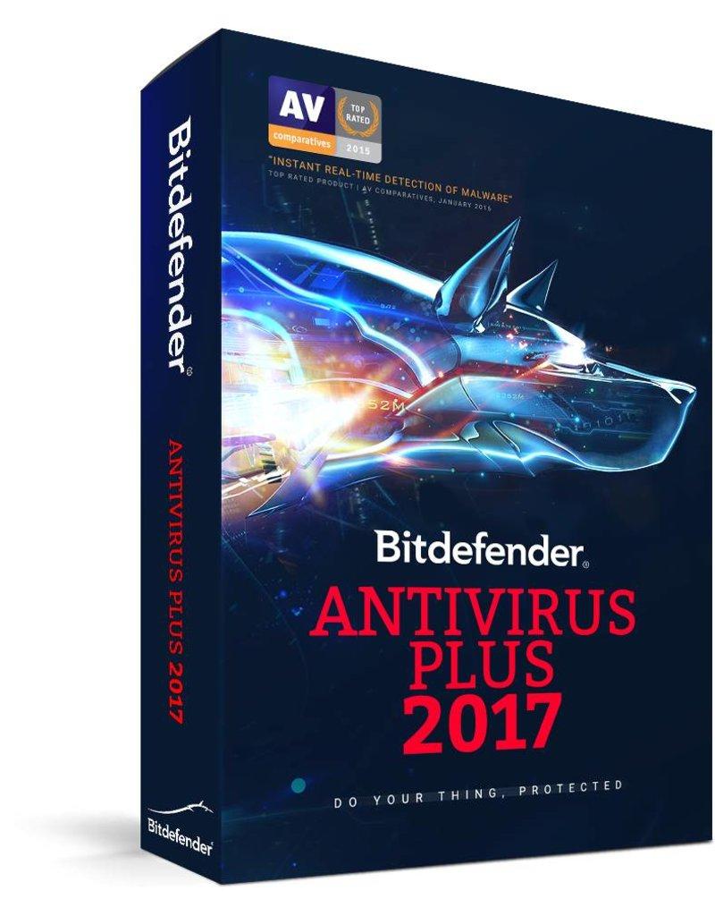Bitdefender Bitdefender Antivirus Plus 2017 3-PC 1 jaar