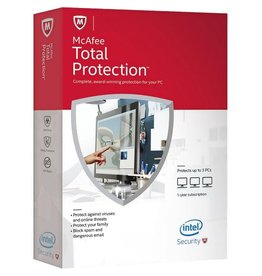 McAfee McAfee Total Protection 3-PC 1-jaar