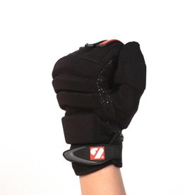 barnett FLG-02 Rękawice futbolowe nowej generacji dla biegaczy, czarne