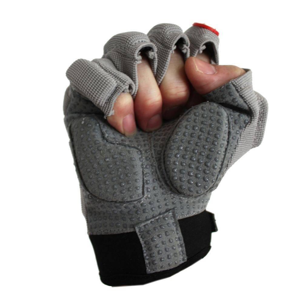 barnett FLGC-02 rękawice futbolowe nowej generacji dla biegaczy, krótkie palce