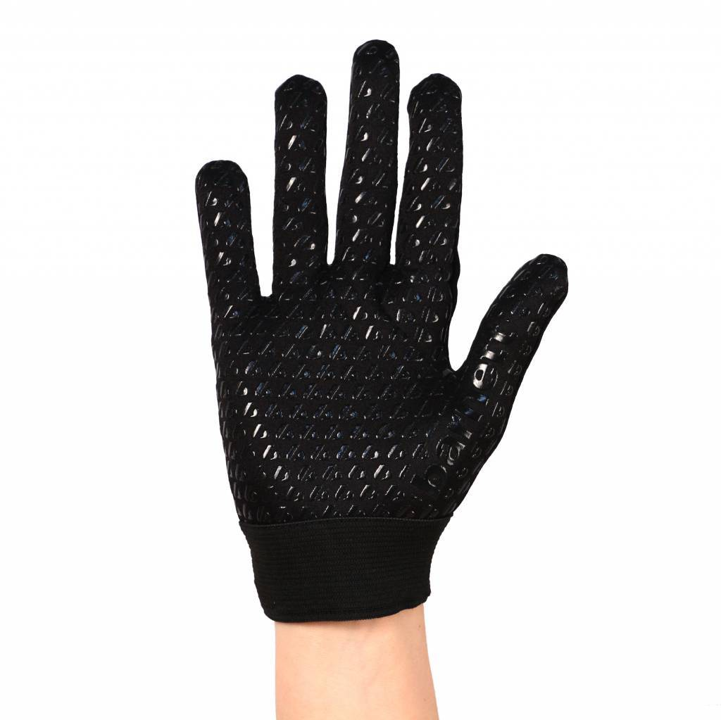 barnett FLGL-02 rękawice futbolowe nowej generacji dla biegaczy, czarne