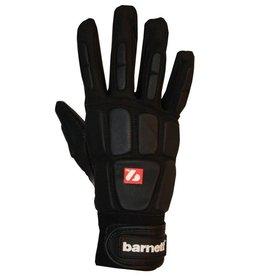 barnett FKG-03 Najwyższej klasy rękawice futbolowe dla wspomagających, czarne