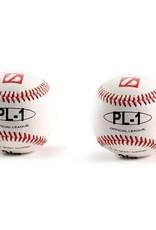 "barnett PL-1 Piłka baseballowa Elite, rozmiar 9"", biała, 2 sztuki"
