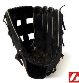 "barnett JL-125 Rękawice baseballowe, skóra kompozytowa, rozmiar 12.5"", czarna"