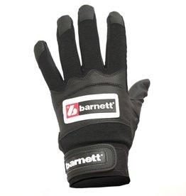 barnett BBG-01 rękawiczki baseballowe do odbijania, czarne