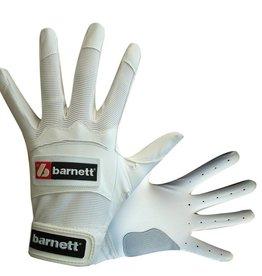 barnett BBG-01 rękawiczki baseballowe do odbijania, białe