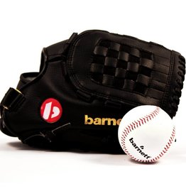 barnett GBJL-2 Zestaw baseballowy, Senior, piłka, rękawica, PU (JL-120, TS-1)