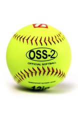 "barnett OSS-2 Turniejowa piłka Softballowa, rozmiar 12"", biała, miękka, 12 sztuk - Copy"