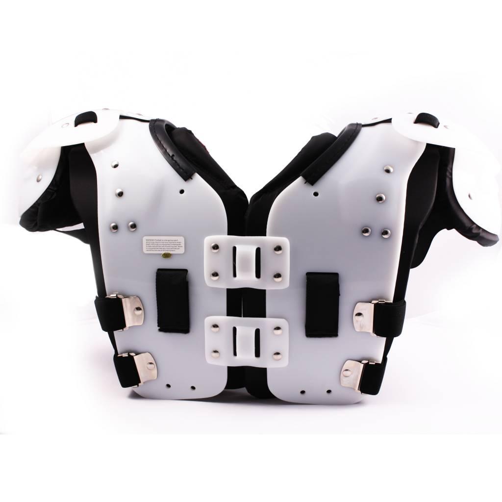 VISION III Football shoulder pad, FB-LB-TE-OL-DL