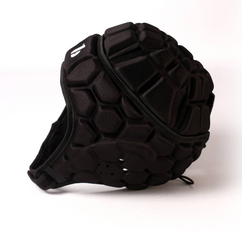 barnett HEAT PRO competition rugby headgear, black