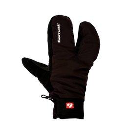 barnett NBG-09 Barnett 3 split fingers, ski mitts in softshell