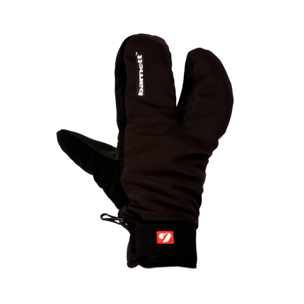 barnett NBG-09 Barnett 3 split fingers, ski mitts in softshell 23°F/-4°F (-5°/-20°)