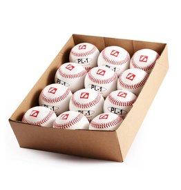 """barnett PL-1 Elite match baseballs, Size 9"""" White, 1 dozen"""
