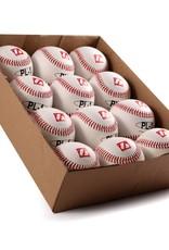 """PL-1 Elite match baseballs, Size 9"""" White, 1 dozen"""