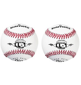 "barnett LL-1 Match and practice baseballs, Size 9"", White, 2 pieces"