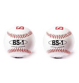 """barnett BS-1 practice baseball ball, size 9"""", white, 2 pcs"""