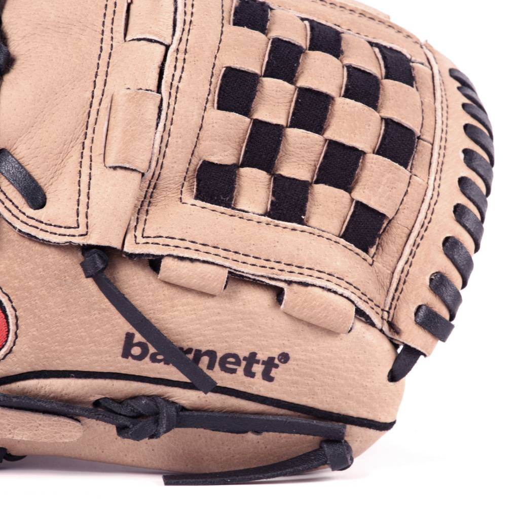 """barnett SL-120 Baseball gloves in leather infield/outfield, size 12"""", brown"""