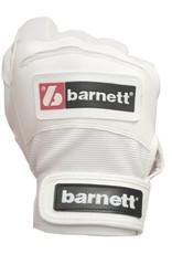 barnett BBG-01 Batting baseball gloves, White