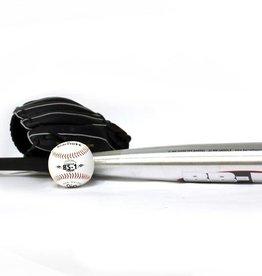 "barnett BGBA-3 Initiation baseball set, youth - Ball, Glove, Aluminum bat (BB-1 28"", JL-102 10,2"", BS-1 9"")"