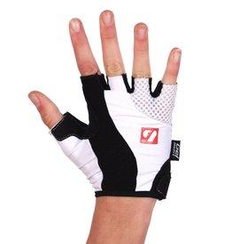barnett BG-02 Fingerless bike gloves, White
