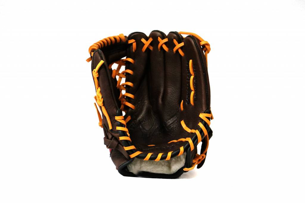 "GL-115 Competition infield baseball glove 11.5"", Brown"
