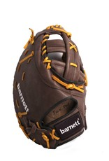 """barnett GL-301 Competition first base baseball glove, genuine leather, size 31"""", Brown"""