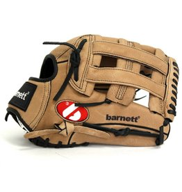 barnett SL-127 Baseball Glove,  Leather, Outfield, Size 12.7'', Brown