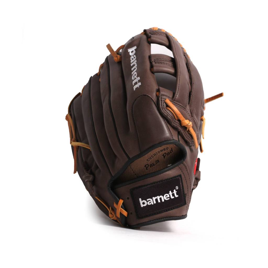 barnett GL-125 Competition baseball glove, genuine leather, outfield 12.5', Brown