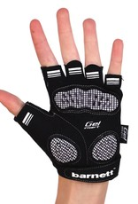barnett BG-02 Fingerless bike gloves, Black