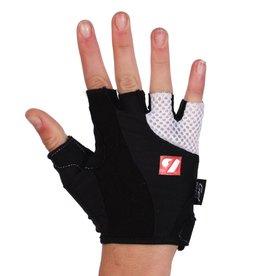 BG-02 Fingerless bike gloves, Black