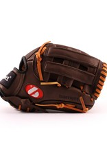 "barnett GL-120 Competition baseball glove, genuine leather, outfield 12"" Brown"
