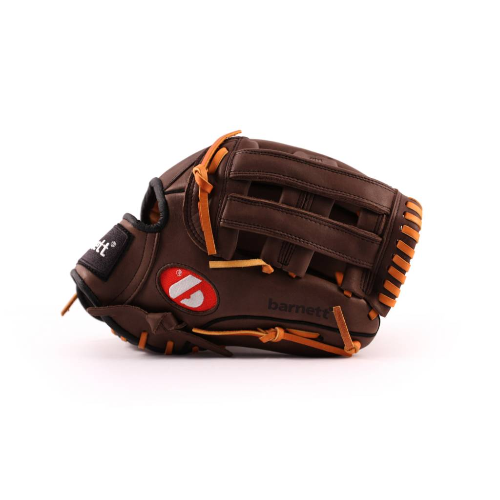 """GL-120 Competition baseball glove, genuine leather, outfield 12"""" Brown"""