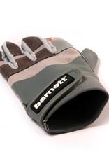 barnett FRG-01 Football gloves for receiver, with grip, grey
