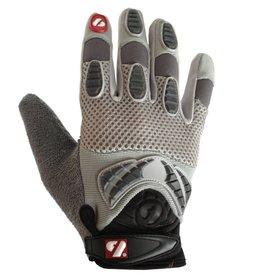 barnett FRG-02 New generation receiver football gloves, RE,DB,RB, grey