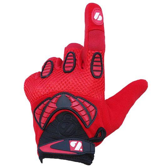 barnett FRG-02 New generation receiver football gloves, RE,DB,RB, red