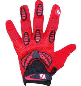 barnett FRG-02 New generation receiver football gloves, RE,DB,RB, red