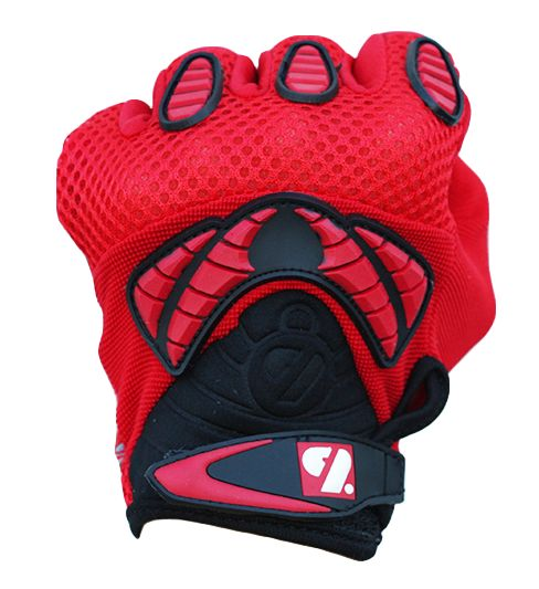 FRG-02 New generation receiver football gloves, RE,DB,RB, red
