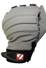 barnett FKG-02 New generation linebacker football gloves, LB,RB,TE, grey