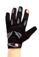 barnett FRG-02 New generation receiver football gloves, black
