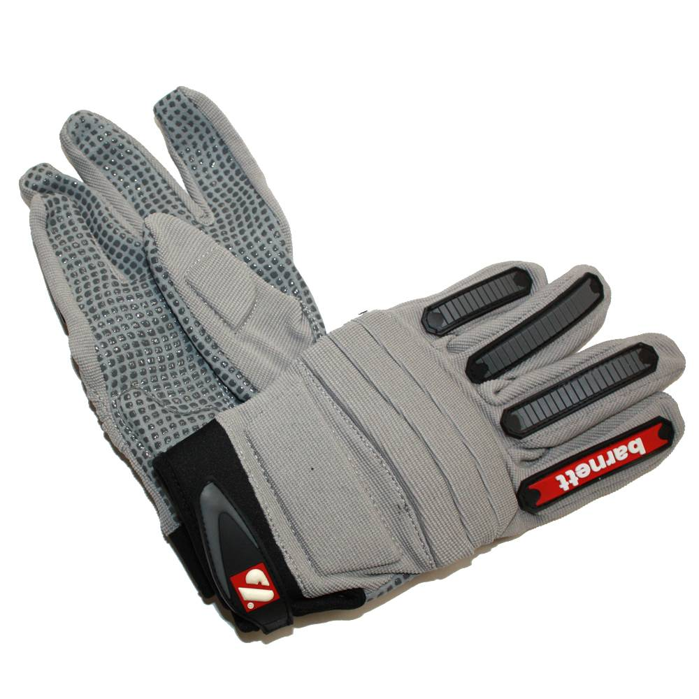 barnett FLG-02 New generation linemen football gloves, OL,DL, grey