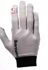 barnett FLGL-02 New generation linebacker football gloves, RE,DB,RB, grey