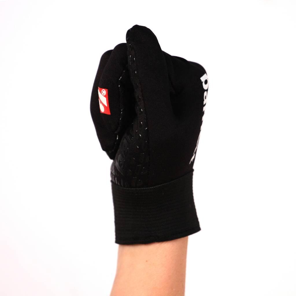 barnett FLGL-02 New generation linebacker football gloves, RE,DB,RB, black